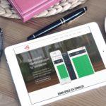 mockDrop_iPad on a desk